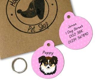 Australian Shepherd Dog ID Name Tag Personalised