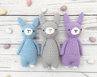 crochet easter bunny | crochet rabbit | crochet soft toy | bunny plushie | crochet bunny toy | easter gift | gift for child |