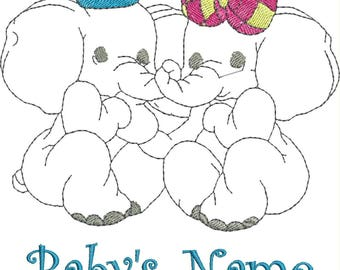 Custom Machine Embroidered Baby Blanket with name