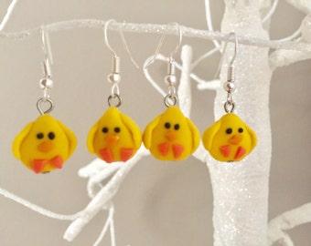 Cute Chick Earrings