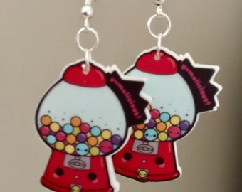 Gum Ball Earrings