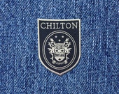 SUPER SALE! Chilton iron-on patch High School Badge Patch Rory Dean Jess