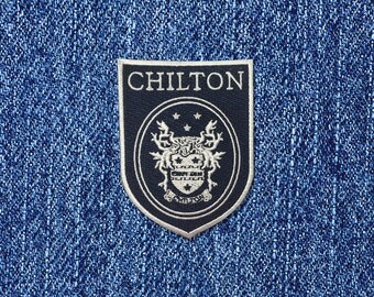 Chilton iron-on patch High School Badge Patch Rory Dean Jess