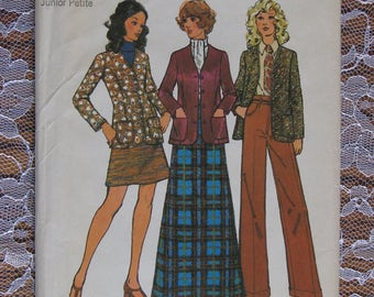 Vintage Simplicity Sewing Pattern no.5264 from 1972