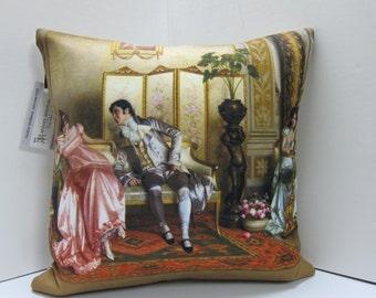 Toss Pillow Printed Art