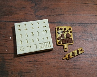 Mold/mould Dollhouse Miniature 1/12 Chocolate Japanese Style