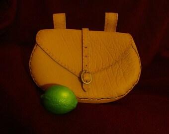 Viking Large Leather Belt pouch. Renaissance Costume Belt Pouch, historical fantasy LARP