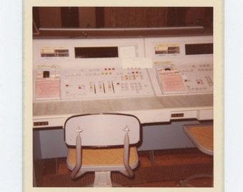 Vintage Snapshot Photo: Switchboard, 1974 (612533)