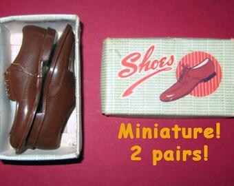 VTG Miniature Men's SHOES - 2 pairs
