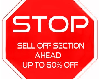 SELL OFF Section Sale Price Reductions