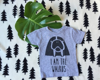 The Beatles Baby Shirt// Beatles Toddler Clothes // I Am The Walrus Toddler // Beatles Baby Shower // Walrus Baby / Beatles Shirt// Walrus