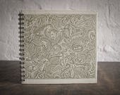 """Upcycled Journal Tartuensis College """"Zoo"""", Wire Bound Journal"""