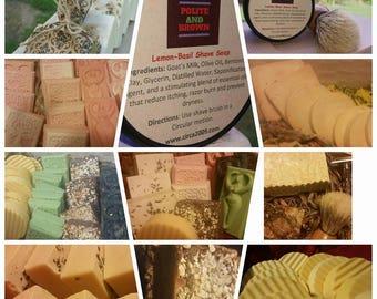 Handmade soap sale 12 for 36 All natural Soap, Detox soap.