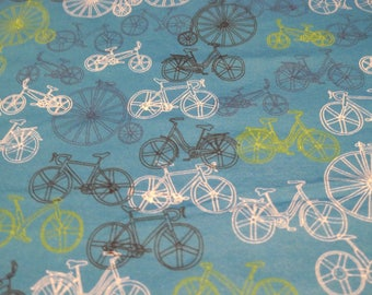 SwaddleStretch Baby Blanket (Bicycles)