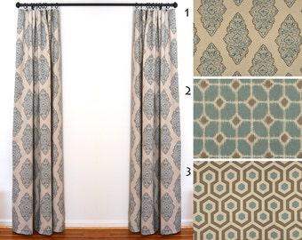 Curtains 2 Curtain Panels Draperies Window Treatments Premier Prints Cadet Oatmeal