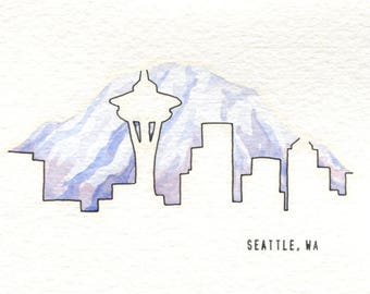 Seattle Card