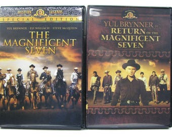 The Magnificent Seven & Return of the Magnificent Seven (DVD) Western Classics