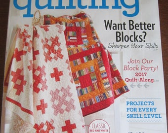 American Patchwork & Quilting April 2017
