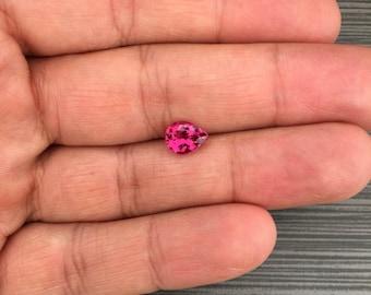 1.83Ct. Pear shaped Pink Tourmaline.