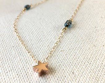 Toddler necklace, Star necklace, Boho Jewelry, Girl Boho, Girl necklace, Toddler jewelry , Girl jewelry, charm necklace, mommy and me, Baby