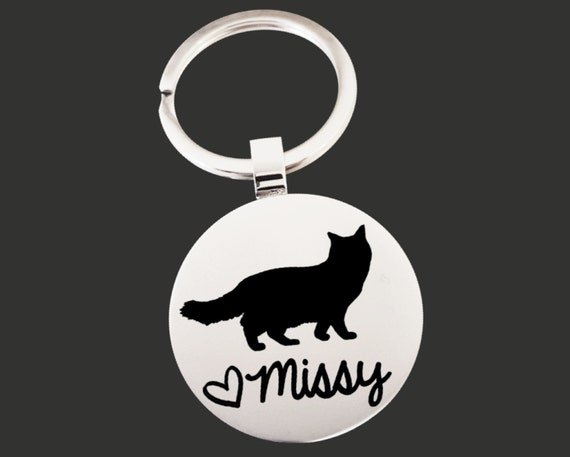 Cat Lover Gift | Cat Keychain | Cat Lover | Cat Gifts | Cat Lady | Cat Gift | Personalized Gifts | Korena Loves