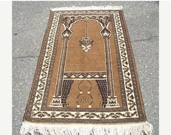 YEAR END CLEARANCE 1960s Hand-Knotted Ferdows Persian Rug (2757)