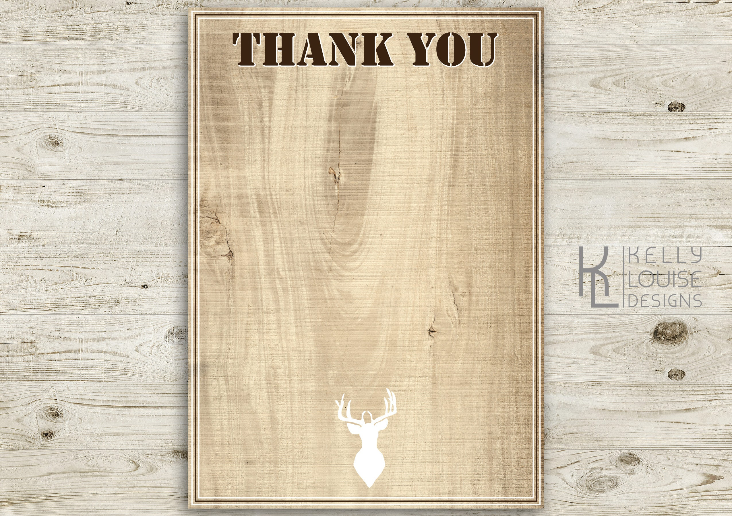Stag Birthday Invitation | Bucks Party | Stag Do | Hunting ...