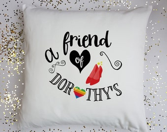 Coming Out Gift-Gay Pride Gift-Homeware Gift-Birthday Gift-Gift for Best Friend-Gift for Boyfriend-Gift for Son-Love Wins-Cushion Gift