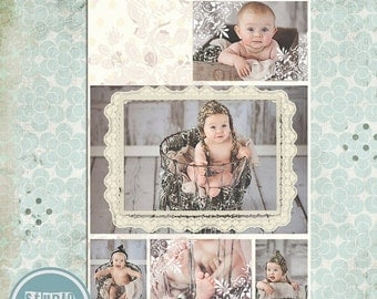 ON SALE INSTANT Download Story Board Template, Photoshop psd files