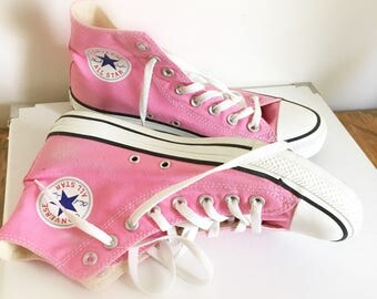 Pink All Star shoes
