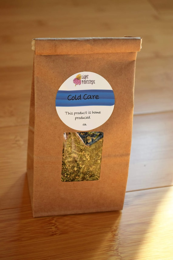 Cold Care Herbal Tea (Gypsy Blend) ~ Organic Herbal Tea Blend - Homemade - For Ohio Customers Only