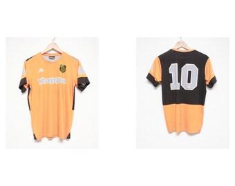 SALE 90s kappa jersey - 90s kappa futbol jersey - vintage soccer jersey - 90s kappa ife soccer jersey - vintage futbol jersey - size xs