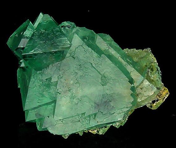 A 23.6 gram Teal Green Fluorite from Riemvasmaak, South Africa