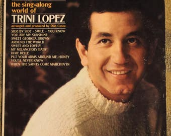 The Sing-Along World of Trini Lopez | Reprise 6183 (Monoaural)