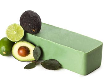 Avocado Soap Loaf FREE SHIPPING, Unscented Soap, Natural Soap, Psoriasis, Wholesale Soap, Cold Process Soap, Castile Soap Natural Soap Bar