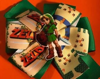 Zelda Hair Bow