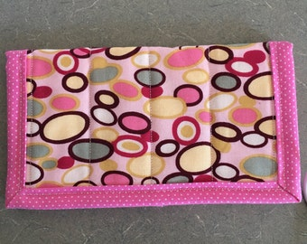 Quilted Checkbook Cover