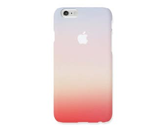 iPhone case - Sunset - iPhone SE/5s/5, 6s/6, 6s+/6Plus, 7, and 7Plus, hard shell non-glossy L24