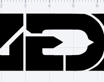 Zedd Vinyl Logo