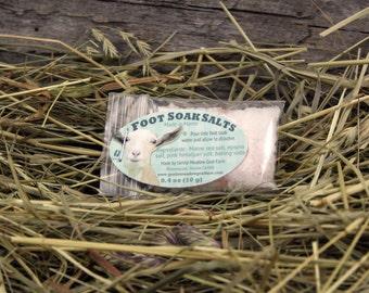 Buck Naked Foot Soak Salts. Foot Bath Soak Salts.