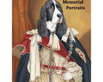 Custom Pet Portrait, Pet Rememberance, Pet Loss Gift, Sympathy Pet Gift, Dog Memorial Ideas