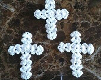 3 Crochet The Cross (3x2.5 inch)  Yh-236
