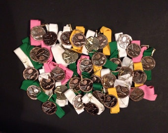 Huge lot of 33 unused solid metal swimming medals ready to be ingraved and givin out - lot 3