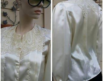 Vintage blouse top by Michelle stuart size S