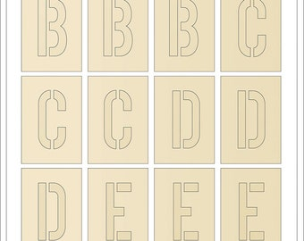 Maggie Holmes - Crate Paper - Chasing Dreams Collection - Gold Foil Chipboard Letter Stickers - 120 pieces - 375957