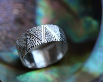 Hand Made.925 Sterling Silver Crown Desidn Band Ring Handcrafted -Custom size