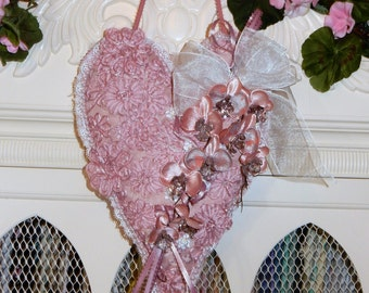 Hanging Heart Sachet Pillow