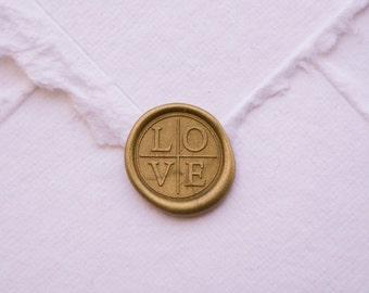 LOVE wax seal