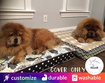 Custom Dog Bed Covers - You Choose Size - Small, Medium, Large, Extra Large