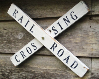Rustic Railroad Sign,Wood Signs,With Sayings,Train Crossing Sign,Railroad Crossing,Railroad Sign,Train Decor,Wood Wall Art,Kids Room Decor